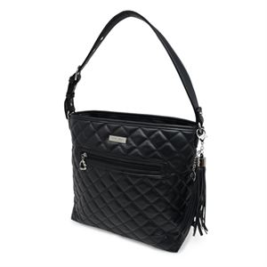 Picture of Stella Quilted Black Large Handbag